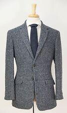 BROOKS BROTHERS 1818 Milano Harris Tweed Houndstooth Wool Blazer Jacket 40 R