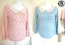 Acrylic Collared All Seasons Jumpers & Cardigans for Women