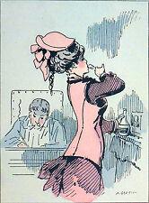 UN PETIT VERRE de COGNAC - Caricature humoristique d'Alfred Grévin