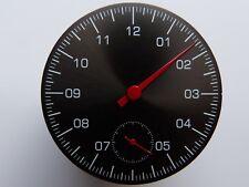 Cadran montre MONO Aiguille ETA UNITAS 6498 Single hand watch dial SET 38.7mm RD