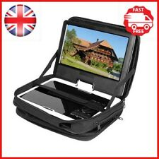 """Black 9.5"""" Portable DVD Player Case Carry Bag with Strap for Car Headrest Mount"""