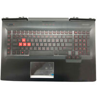 New for HP Omen 17-AN 17-AN000DX Palmrest w/Touchpad Backlit Keyboard L14994-001