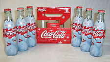 2005 COCA COLA CHRISTMAS HOLIDAY 6 PACK 8 OZ FULL BOTTLES
