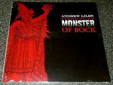 ANDREW LILES-SCHMETALING MONSTER OF ROCK-2012 RED VINYL LP-MAYHEM-NEW & SEALED