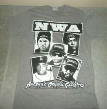 Vintage N.W.A. Eazy-E Dr Dre Ice Cub Gray Small T-Shirt Original Gangsta