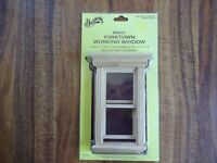 New Houseworks Yorktown Wood Double Hung Window #5001 1:12 Scale Dollhouse