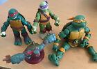 2012 Viacom TMNT Teenage Mutant Ninja Turtles Action Figures Mixed Lot