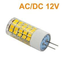 10pz Lampadina lampada LED g4 6W 12V dc/ac 63 LED SMD resa 50w LUCE FREDDA 500Lm