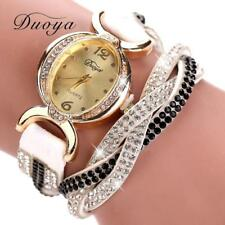 Duoya Hot selling luxury fashion heart pendant women watches WH