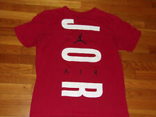 NIKE AIR JORDAN SHORT SLEEVE RED T-SHIRT MENS X-LARGE EXCELLENT CONDITION