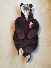Just One You by Carter's Brown Hooded 6 Mo I Love Bear Hugs One Piece Outerwear