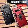 Phone Case For Samsung Galaxy S10 Plus Hybrid Magnetic Ring Holder Stand Cover