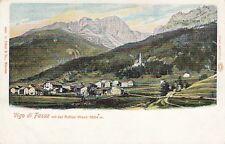 Ansichtskarte Italien   Vigo di Fassa  mit der rothen Wand