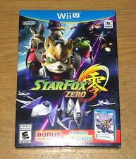 Brand New Star Fox Zero + Star Fox Guard Nintendo Wii U Games Fun Video Games