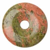 Sacred Essence Crystals Munay Ki Pi Stone Donut - Unakite 50mm