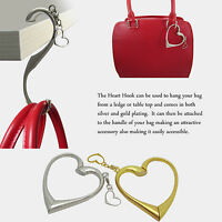 The Heart Hook with Charm (Gold / Sliver)