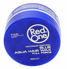 Red One Maximum Control Blue Aqua Hair Wax - BubbleGum Scent