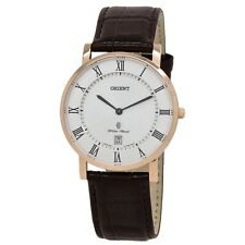 Orient Classic Quartz Men's Leather Watch FGW0100EW0