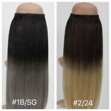 "Rapunzel's Halo- Ombre 18"" 140g+ Premium Quality Halo 100% Human Hair Extensions"