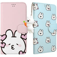 Genuine Over Action Rabbit Key Ring Diary Case iPhone 7/8/iPhone 7/8 Plus Korea