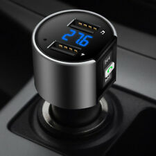 Bluetooth Wireless Car FM Transmitter MP3 Player Radio Adapter USB Port Charger