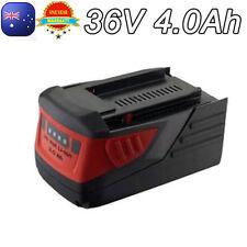 For HILTI 36V Battery TE 6A36 AVR TE6-A B36 +B36/4.0 Li-ion ROTARY HAMMER DRILL