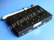 Newport 436 Precision Linear Translation Stage with SM-50 Micrometer
