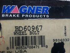 1 ~  Wagner BD60967 Wagner Wheel Lug Front,Rear