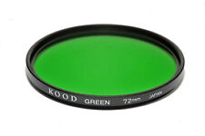 72mm High Quality Kood Optical Glass Green Filter Made in Japan 72mm