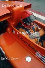 Vittorio BRAMBILLA Mars 761 espagnol GRAND PRIX 1976 photo 2