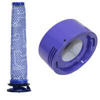 For Dyson V7 V8 Post Filter Animal Absolute Cordless Vacuum 967478-01 HH11 SV10!