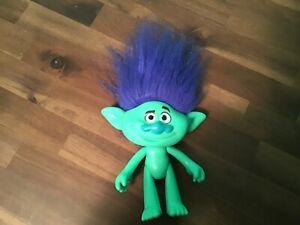 Troll  FIGURE MOVING HEAD-LEGS-ARMS-BLUE,GREEN HASBRO 2015