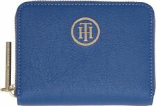 TOMMY HILFIGER TH Core Compact Zip Around Geldbörse Dutch Blue Blau Neu