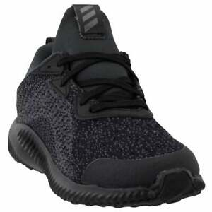 adidas Alphabounce Em Kids Boys Running Sneakers Shoes    - Black