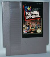 MTV Remote Control (1990) Cartridge Nintendo NES Game Authentic Tested Good