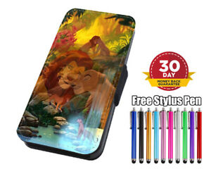 The Lion King Disney Simba Flip Phone Case Cover for iPhone Samsung Huawei