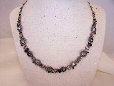 TAKE 50% OFF MARKED PRICE- Classic Crystal Floral Sorrelli French Blush Neck