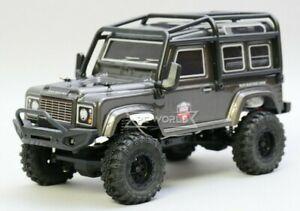 RC 1/24 Micro Land Rover DEFENDER 90 Rock Crawler 4X4 Truck*RTR* GRAY