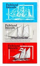 FALKLAND IS. 1978. 1979, 1980 MAIL SHIP BOOKLETS SG.SB3-5 MNH