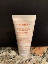 Kiehl's Richly Hydrating Grapefruit Scented Hand Cream 2.5 oz New Sealed Tube