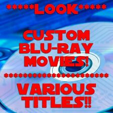* You Pick Title * Blue Ray Movies * Comes w/DISC, COVER ART & CASE * NEW *LOOK*