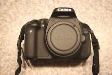 Canon EOS 600D 18.0MP Fotocamera Reflex Digitale-Nero + LIBRETTO (NO LENTI)
