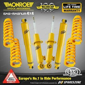 Monroe Shocks & King STD Springs for Mitsubishi Pajero NM NP NS NT NW LWB DIESEL
