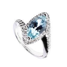 Anello Damiani Eden diamanti ring acquamarina assicurazione gioiello 20017082
