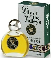 Anointing Oil  Lily of Valleys  7.5ml. - 1/4oz from Holyland - Buy 4 get 1 Free