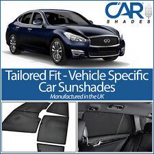 Infiniti Q70 4dr 2013+ UV CAR SHADES WINDOW SUN BLINDS PRIVACY GLASS TINT BLACK