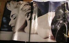 Madonna Oop 1986 Promo Poster Metal Rare Used True Blue