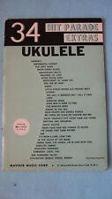 34 Hit Parade Extras Ukulele Music Box