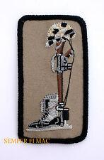 MEMORIAL HELMET M16 BOOTS LARGER PATCH COMBAT PATRIOTIC USA GIFT VETERAN