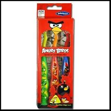 Angry Birds Childrens Toothbrushes Set of 3, Suction Cup Bottom, Soft  BRAND NEW